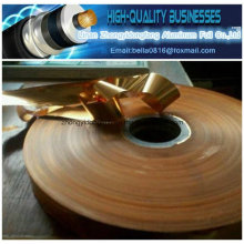 Copper Thickness 35 Microns Mylar Foil Copper Mylar Tape Cable Shield Laminate Copper Foil