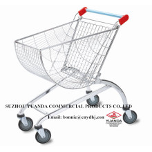 Yuanda Metal Store Supermarket Shopping Trolley Cart