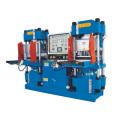 Machine de moulage hydraulique de type voie à vide complètement automatique à double pompe de haute précision pour produits en forme de joint torique (KSV-250T)