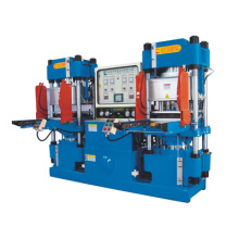 Hochpräzise Doppelpumpen-vollautomatische Vakuum-Track-Style hydraulische Formmaschine für O-Ring-Produkte (KSV-250T)