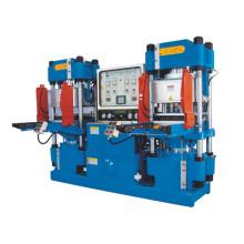 Máquina de moldeo hidráulico de alto vacío con doble bomba de precisión de doble bomba para productos con junta tórica (KSV-250T)