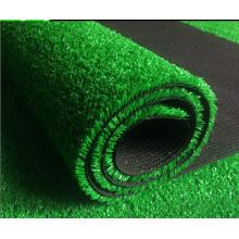 Grama artificial do relvado do jardim Eco-Amigável feito sob encomenda do campo de futebol