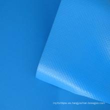 Lona recubierta de PVC de 0.6 mm para la cubierta del camión