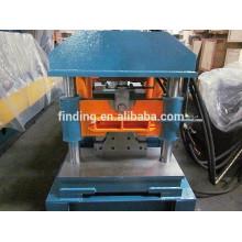 Hangzhou aluminum sheet/steel sheet lightweight roof frame ridge cap/roof tile ridge cap making machine price