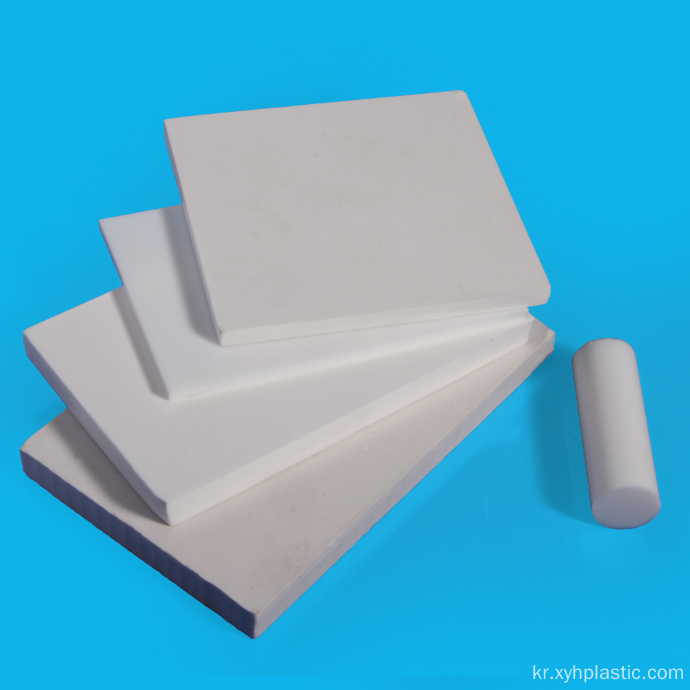 고온 내열성 Ptfe Skived Plates Ptfe Sheet