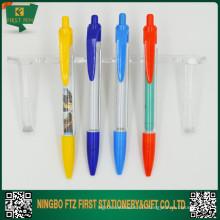 Stylos de bannière personnalisés bon marché en plastique