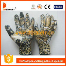 White Nylon with Eagle Design Shell Glove-Dnn357