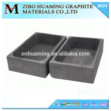 Bateau de graphite pour la fonte de métal