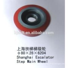 Rouleau d'escalator / roue principale de l'escalier