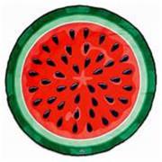 Tie Dye Red Dot Designer Round Beach Towel
