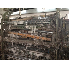 Máquina usada do tear da canela feita na porcelana