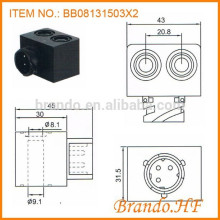OE 4421977102 DC 12V Double Hole Solenoid Coil Automobile Air Brake System Valve