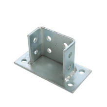 China manufacture Steel strut seismic bracing channel connector fitting