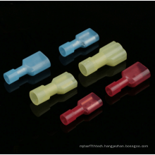 Wire connector 1.25-250 nylon inserts 6.35 male and female fully insulated butt terminals
