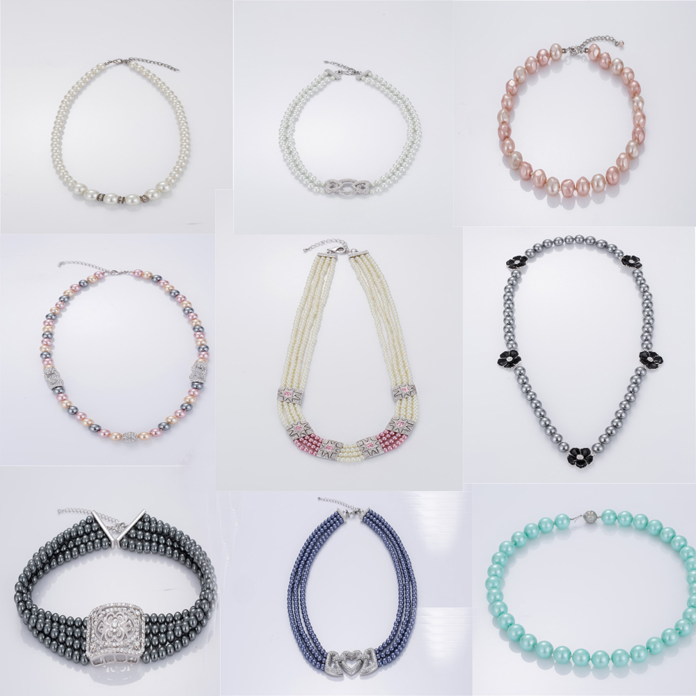 Fashion Pearl Necklace Chain Wholesale