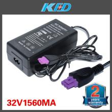32V 1560mA para HP 0957-2271 Impresora Deskjet Adaptador de corriente