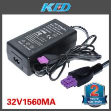 32V 1560mA para HP 0957-2271 Deskjet Printer Power Adapter