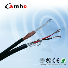 Câble coaxial RG59 + 2DC pour caméra CCTV / CATV