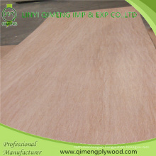 Two Time Hot Press 4.2mm Commercial Plywood with Poplar Core