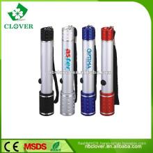 12000-15000MCD 6 led keychain flashlight for promotion