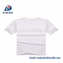 Camiseta promocional del algodón 100% de los hombres de alta calidad al por mayor baratos de encargo