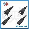 Certificado PSE 125V 250V japón cable de alimentación para la cocción lenta