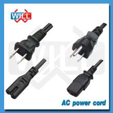 High quality PSE 125V 7/12/15a japan power cord without switch