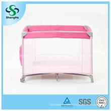 Soem-Fabrik-Versorgungsmaterial-einfaches bewegliches Baby-Spielraum-Krippe (SH-A5)