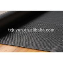 Tela de la fibra del carbón de la alta calidad 3K, formando el paño, fácil funcionar