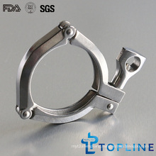 Sanitary Stainless Steel 3-Segment Clamps