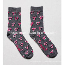 Chaussettes Design Fashion Wome N Flower Design