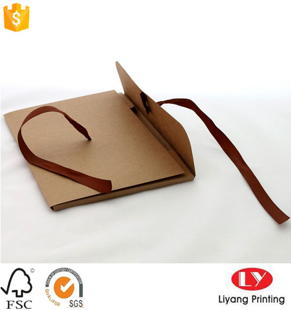 Kraft Envelope with Ribbon
