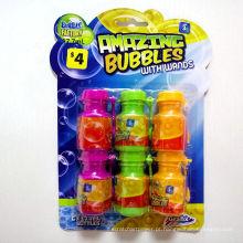 crianças bolha de bolha transparente água