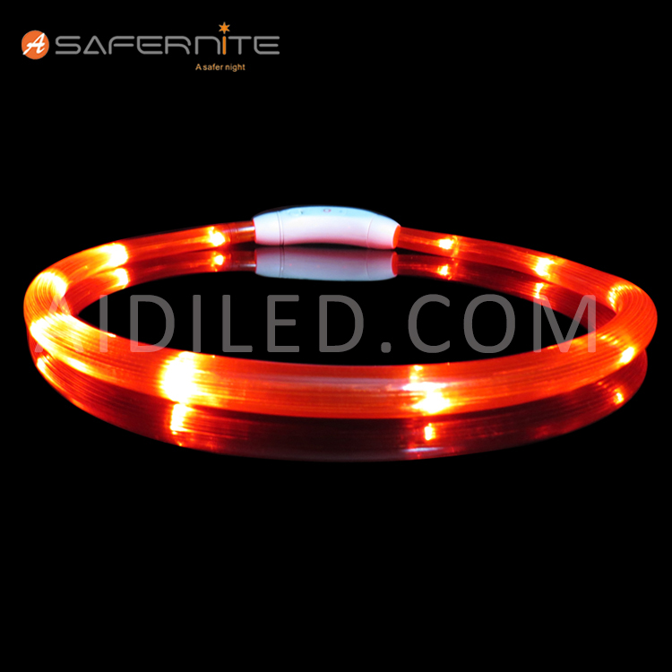Led Safety Light Collar For Pet Dogs