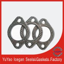 Cobre de aire de escape de venta caliente / Las juntas de tubo de escape de motocicleta Partes de motor Partes de automóvil