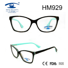 2017 Newest Double Color Acetate Optical Eyewear Eyeglasses (HM929)