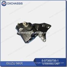 Genuino 4JA1 / 4JB1 NHR NKR 100P Dirección del engranaje 8-97069-706-1