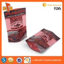 Type britannique de sacs plastiques de qualité alimentaire avec ziplock