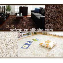 100% polyester microfiber large white shaggy rug waterproof dog rug