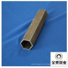 Tubulação sem emenda do aço de carbono do hexagonal da província de Hebei China