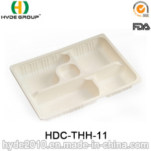 Catering Biodegradable Corn Starch Lunch Box for Restaurant