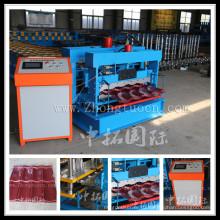Metal Galvanized Glazed Tile Roll Forming Machine