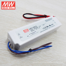 18 W a 150 W classe 2 corrente constante motorista led caixa de plástico UL CE original meanwell lpc 100 w tipo LPC-100-1400