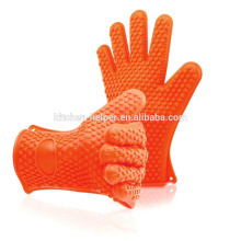 Wholesale Custom Silicone Barbecue Baking Grilling Cooking Gloves/Silicone Grill Oven BBQ Glove/Oven Mitt