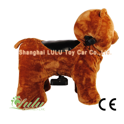 Batterie Zippy Ride animaux ours marchant