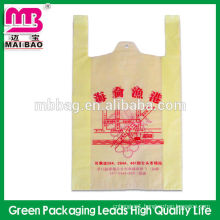 Chinese factory wholesale recycle non toxic plastic plastic T-shirt carry bag