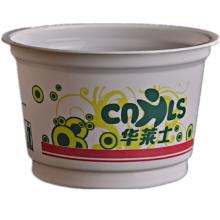 Tigela de plástico descartável para alimentos