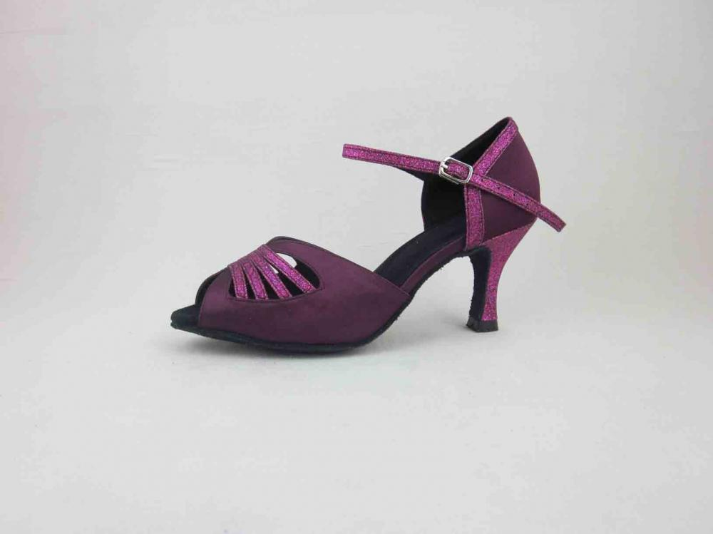 2 5 Inch Purple Salsa Shoes