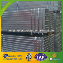 best seller hot dipped galvanized rectangular pipe