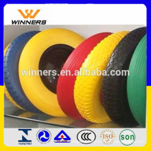Colorful PU Foam Wheel 4.8/4.00-8 For Wheelbarrow